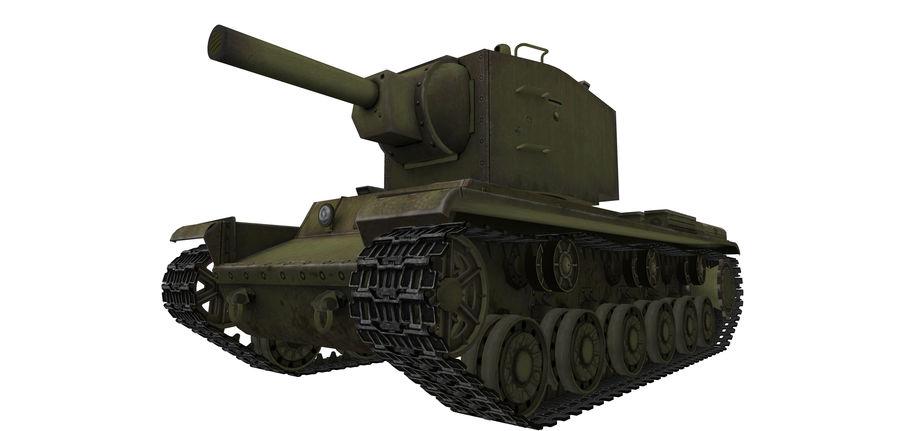 KV-2 Heavy Tank royalty-free 3d model - Preview no. 5