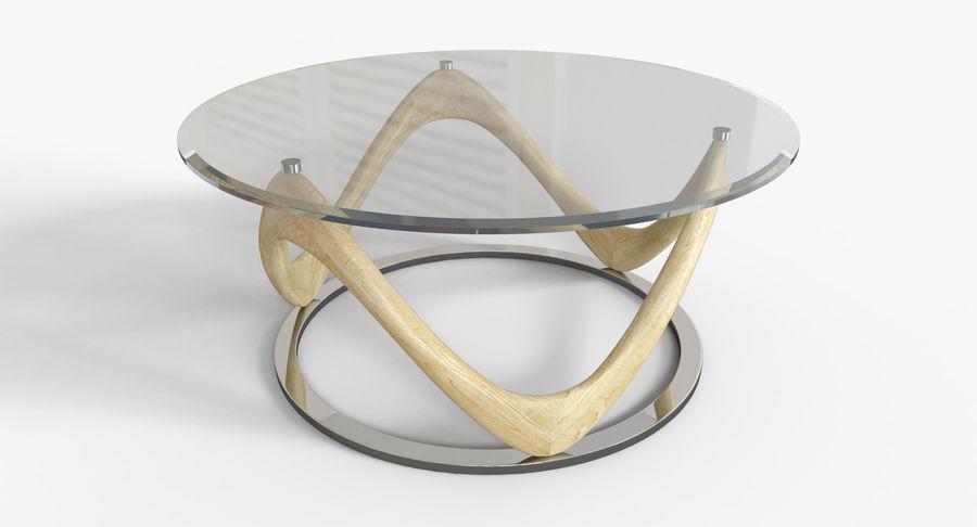 现代咖啡桌 royalty-free 3d model - Preview no. 3