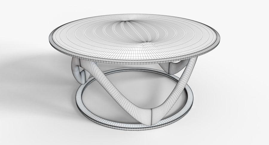 现代咖啡桌 royalty-free 3d model - Preview no. 17