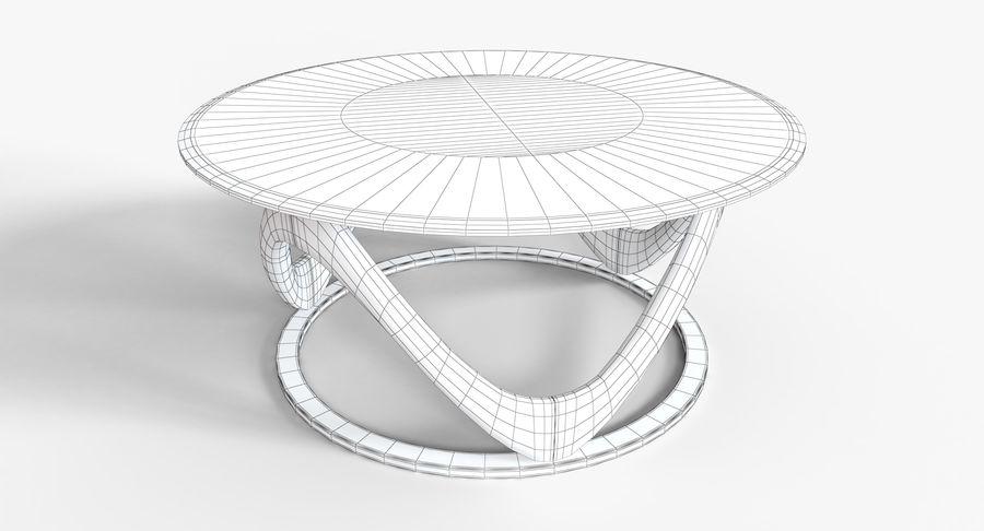 现代咖啡桌 royalty-free 3d model - Preview no. 16