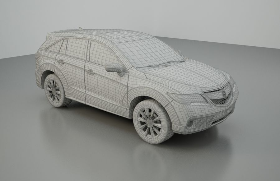 LUXURY Car royalty-free 3d model - Preview no. 5