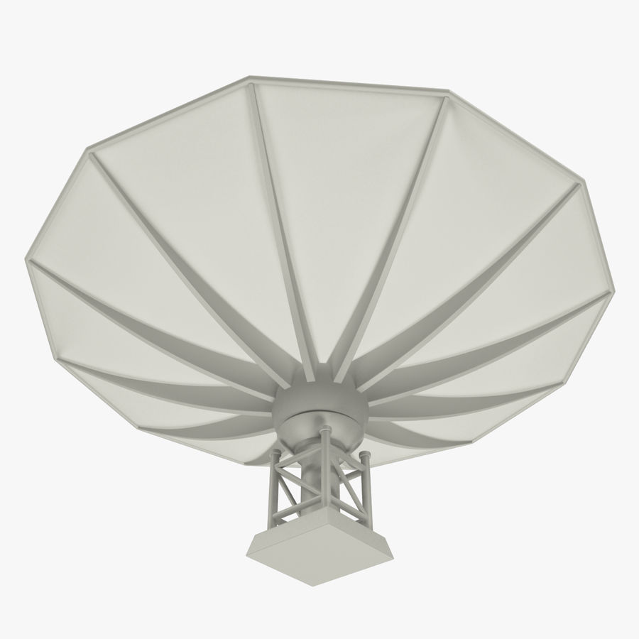 Satellietschotel V1 royalty-free 3d model - Preview no. 4