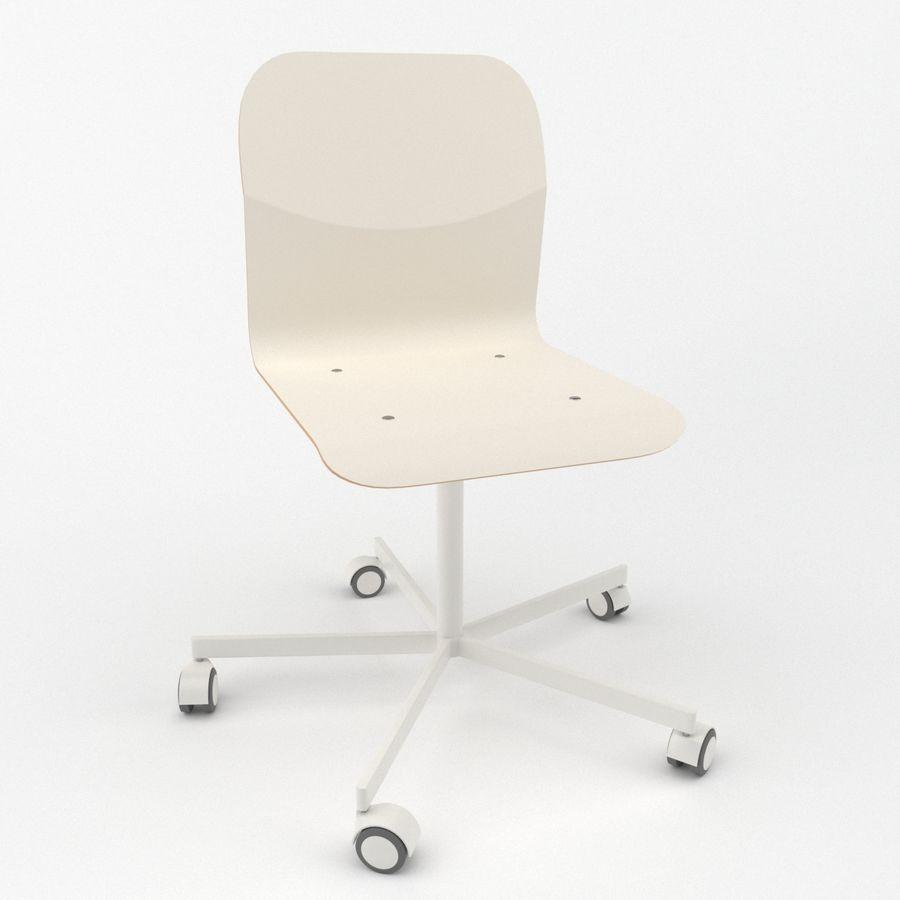 Sedia della scrivania royalty-free 3d model - Preview no. 2