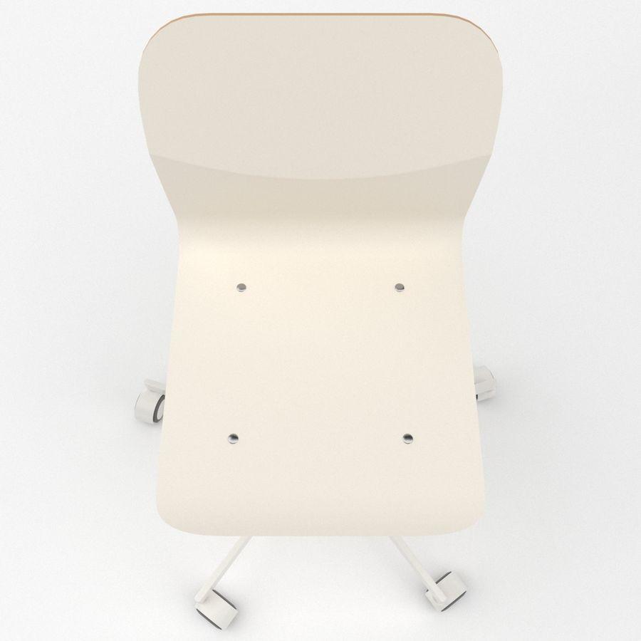 Sedia della scrivania royalty-free 3d model - Preview no. 6