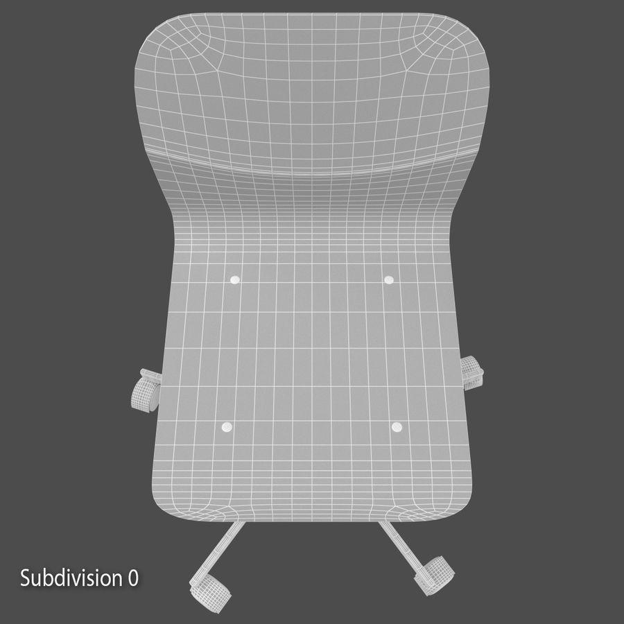 Sedia della scrivania royalty-free 3d model - Preview no. 11