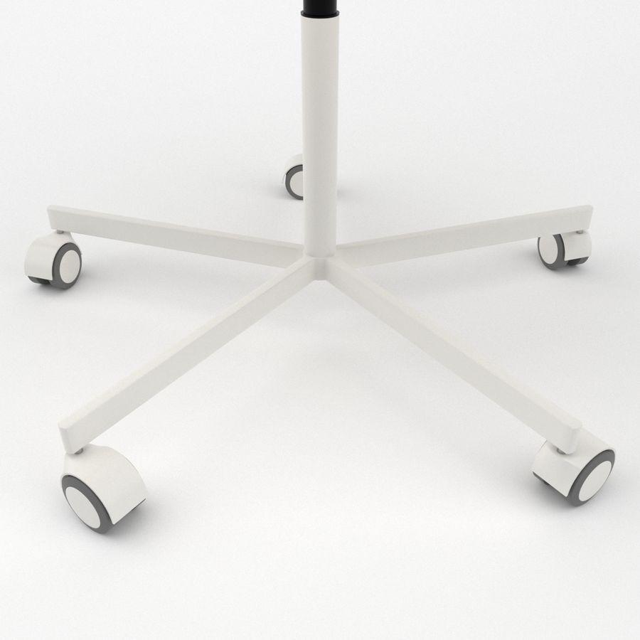 Sedia della scrivania royalty-free 3d model - Preview no. 5