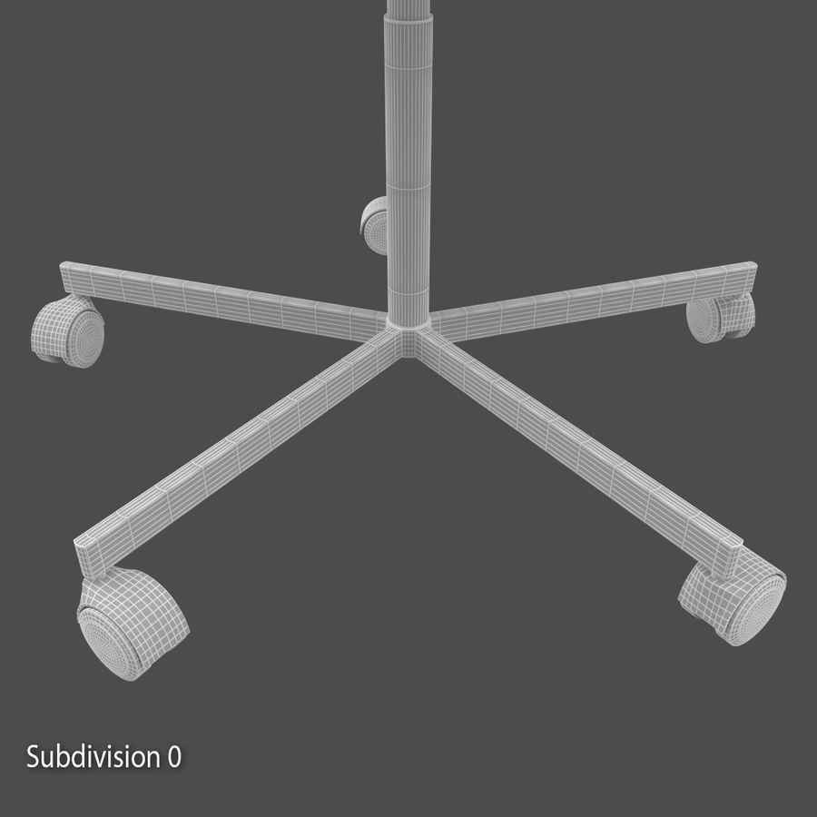 Sedia della scrivania royalty-free 3d model - Preview no. 10