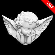 Porcelain Angel 3d model