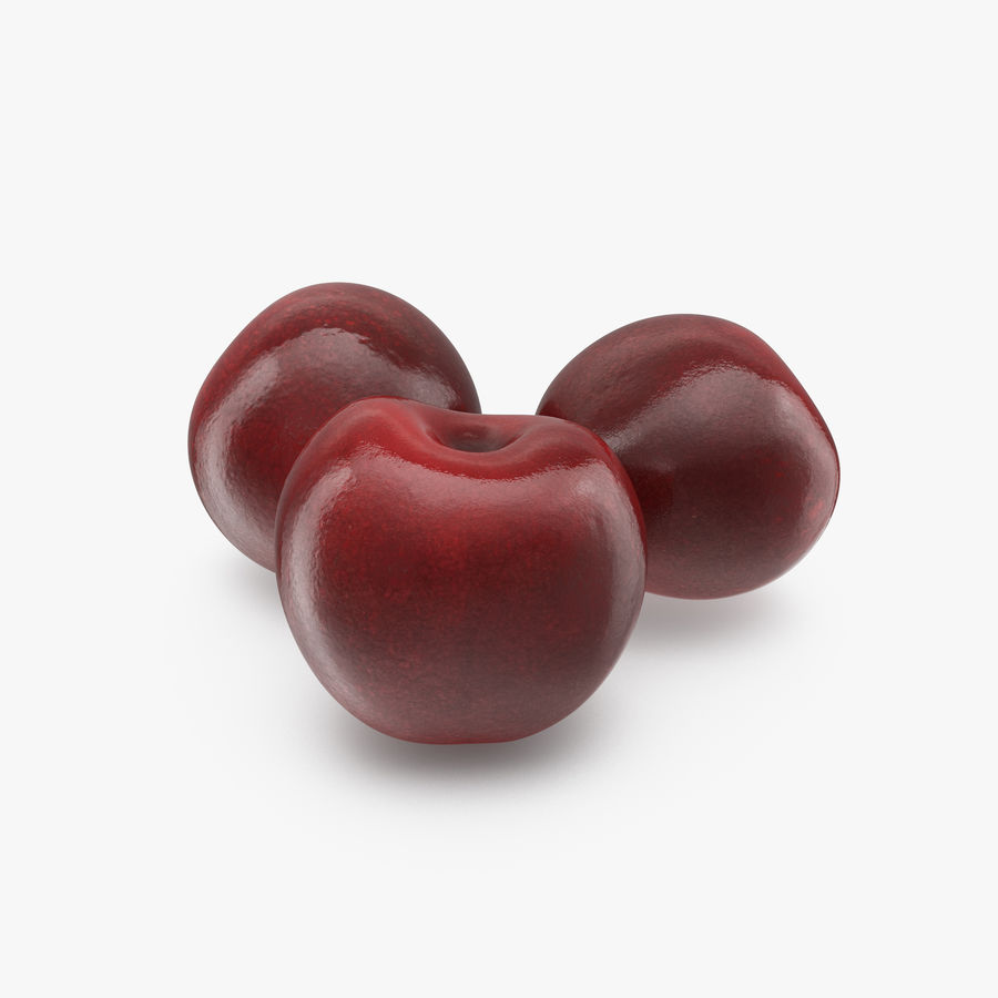 Cherry Fruit royalty-free 3d model - Preview no. 1