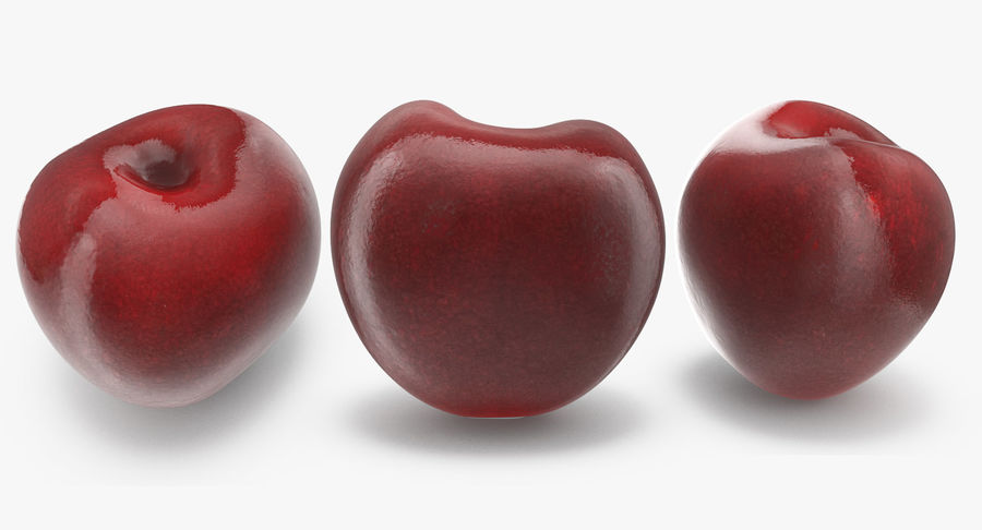 Cherry Fruit royalty-free 3d model - Preview no. 3
