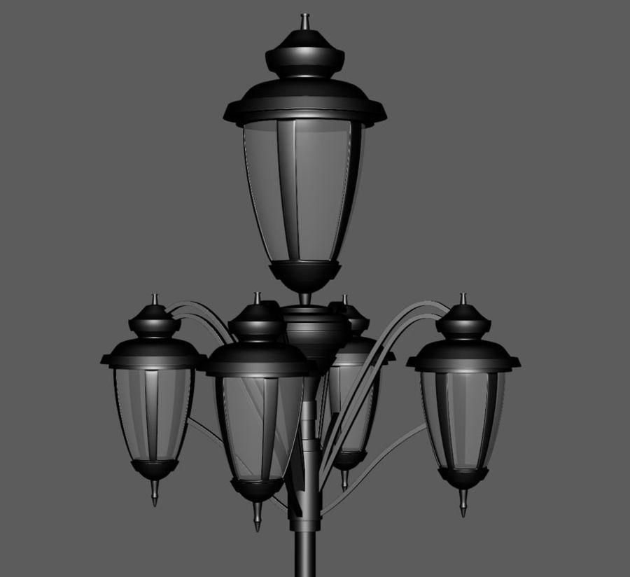 Retro Yağ Lambası royalty-free 3d model - Preview no. 7