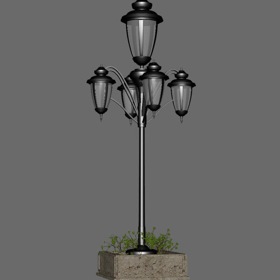 Retro Yağ Lambası royalty-free 3d model - Preview no. 4