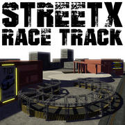 StreetX Race Track modelo 3d