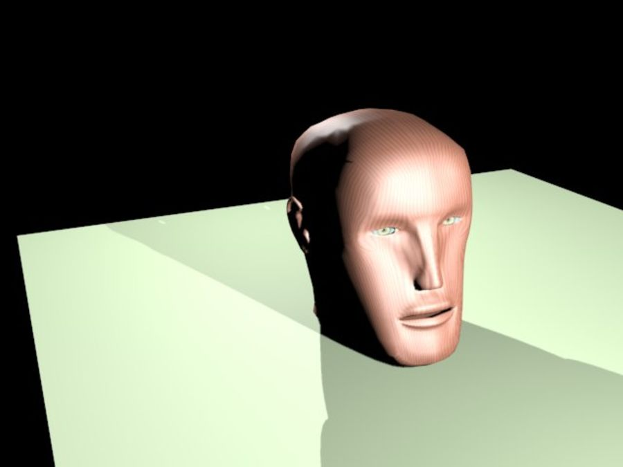 hoofd royalty-free 3d model - Preview no. 3