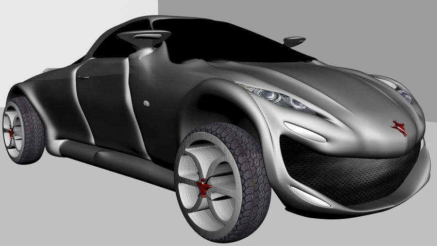 CAR royalty-free 3d model - Preview no. 6