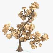 Árbol de la fantasía modelo 3d
