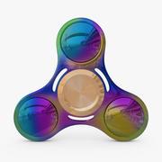 3D Hand Spinner plastic metallic 3d model