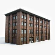 Industriell byggnad II 3d model