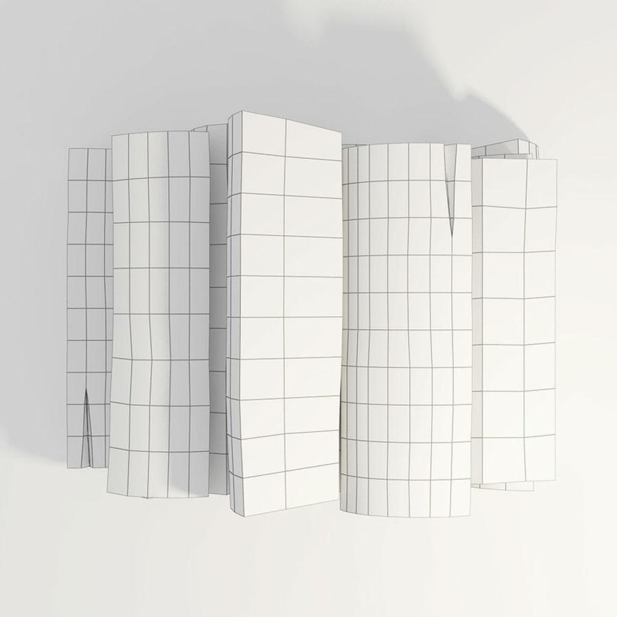 桦木柴 royalty-free 3d model - Preview no. 42
