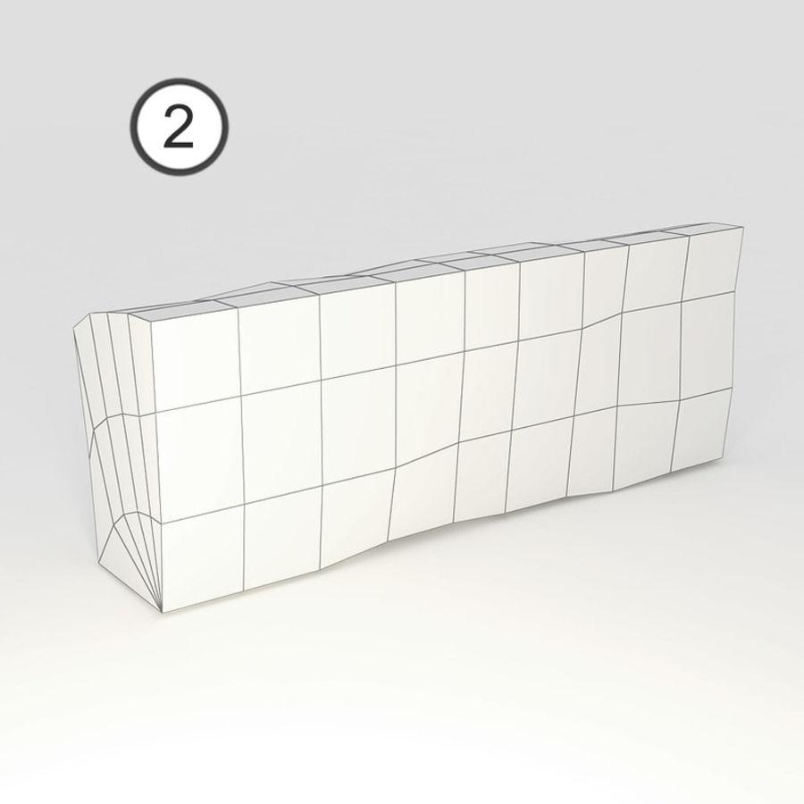 桦木柴 royalty-free 3d model - Preview no. 48