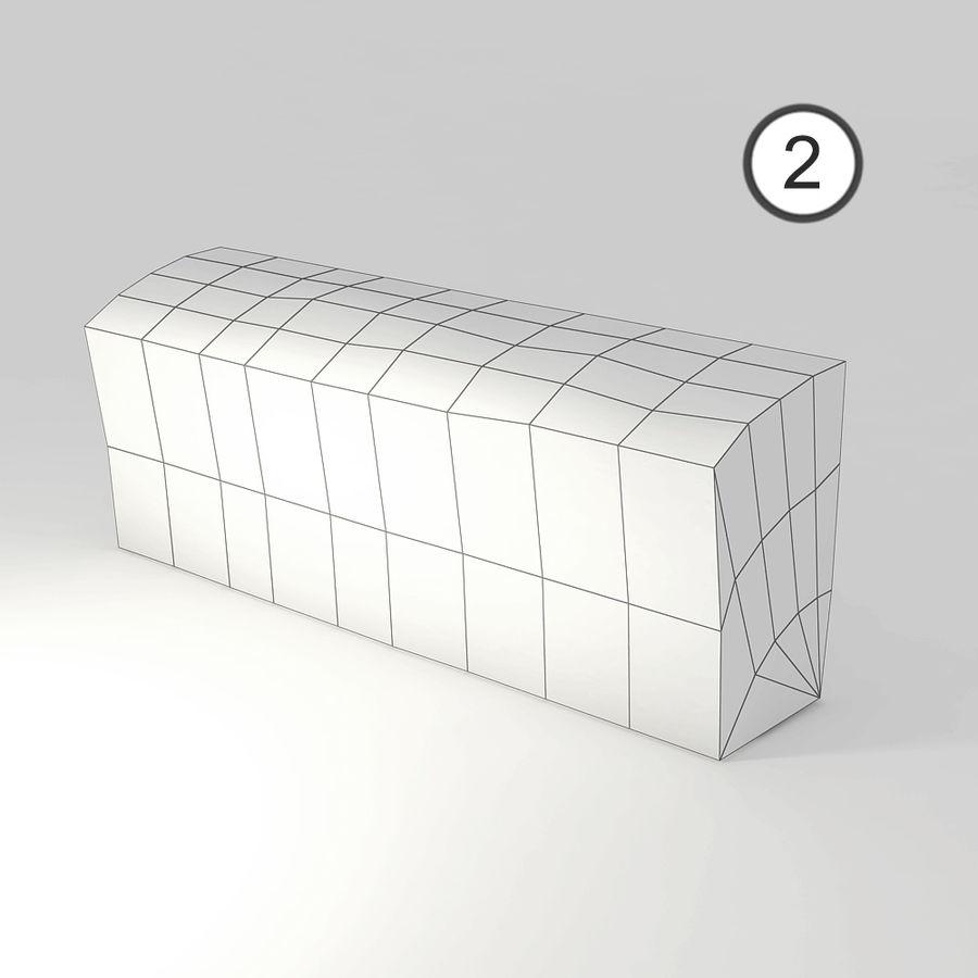 桦木柴 royalty-free 3d model - Preview no. 16