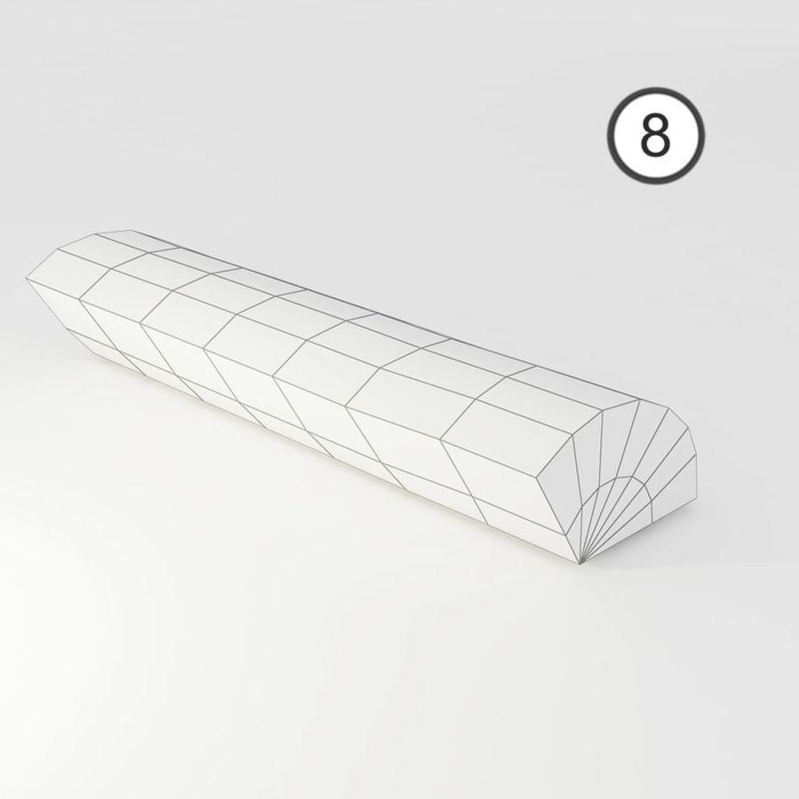 桦木柴 royalty-free 3d model - Preview no. 28