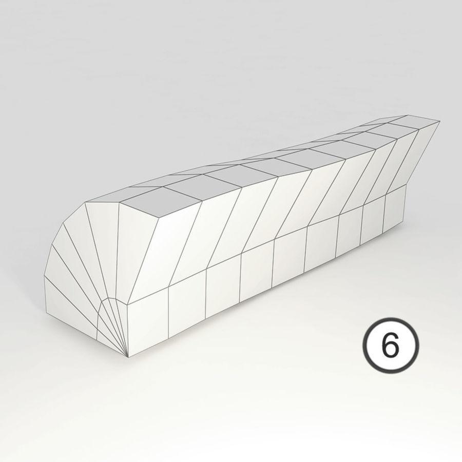 桦木柴 royalty-free 3d model - Preview no. 56