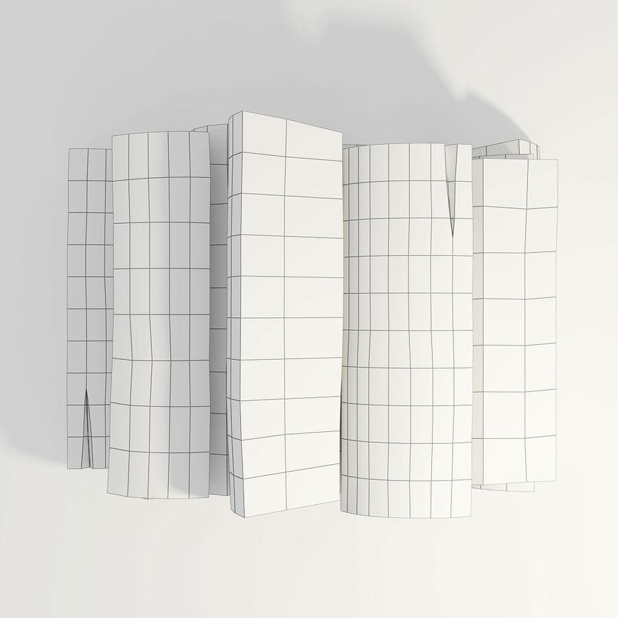 桦木柴 royalty-free 3d model - Preview no. 10