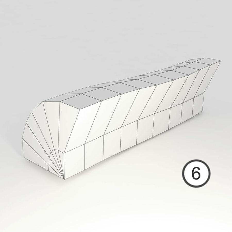 桦木柴 royalty-free 3d model - Preview no. 24