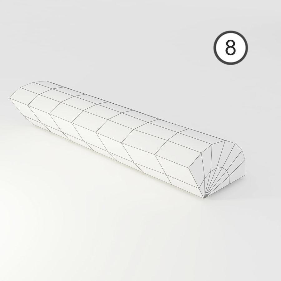 桦木柴 royalty-free 3d model - Preview no. 60