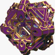 Forma abstracta A12 modelo 3d