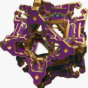 Forma abstracta A13 modelo 3d
