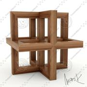 Leonard kubus 3d model
