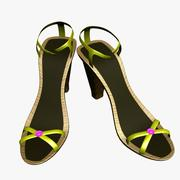High Heel Shoes 3d model