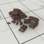 Çikolata Topakları 3d model