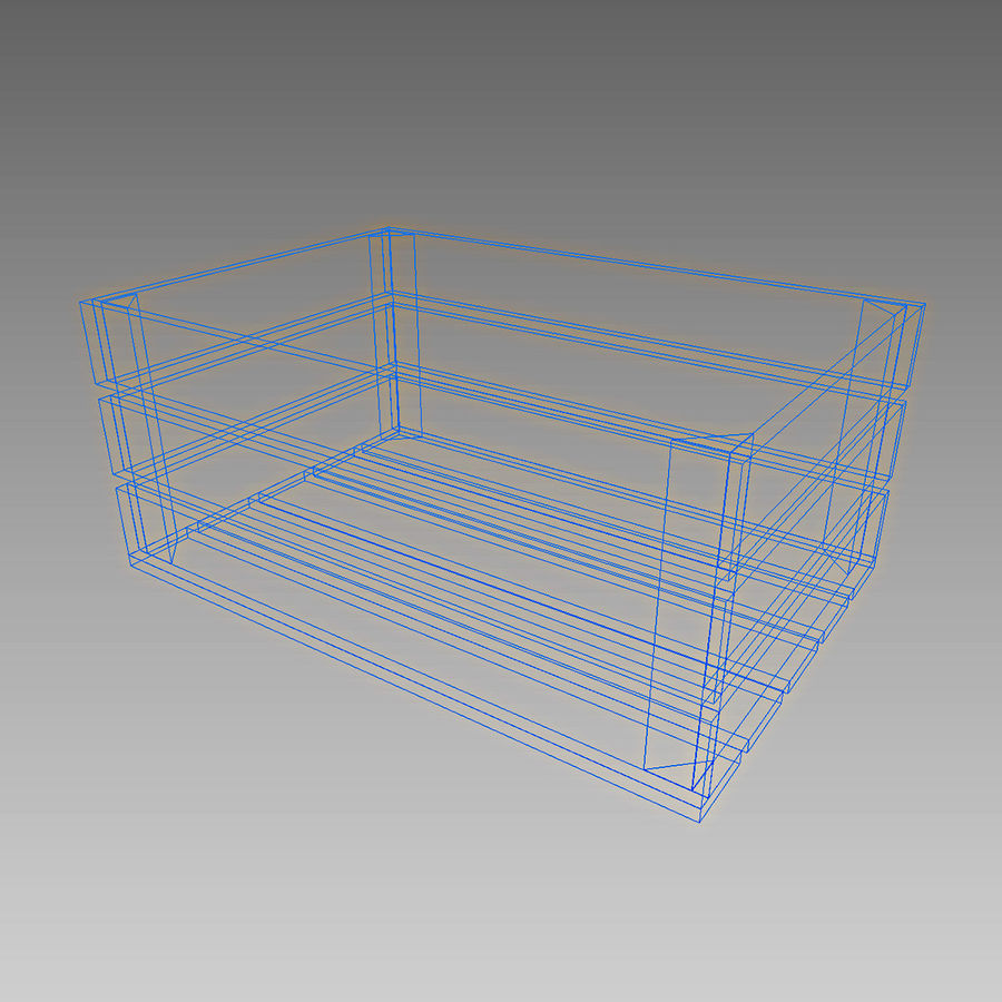 Wooden Crates royalty-free 3d model - Preview no. 15