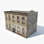 Old Apartment House 3d model