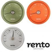 Okrągły termometr Rento Sauna 3d model