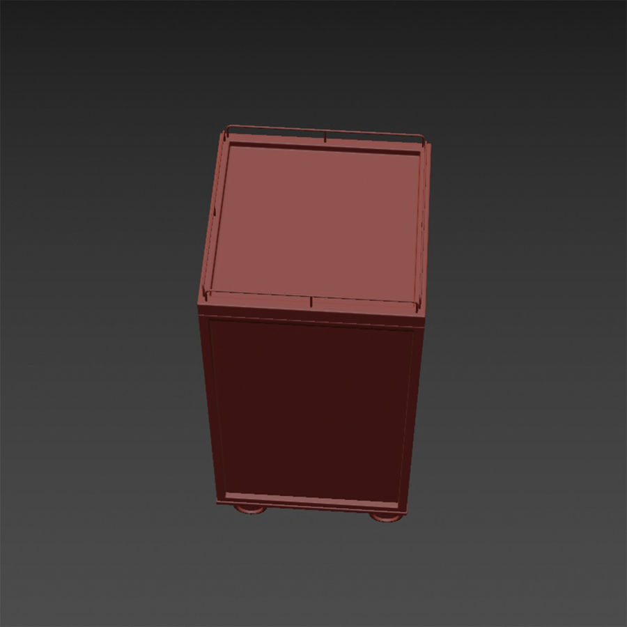 Metall Medical Cart royalty-free 3d model - Preview no. 21