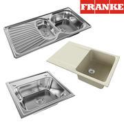 évier FRANKE 1 3d model