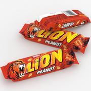 Nestle Lion Peanut Bar 40g (2) 3d model