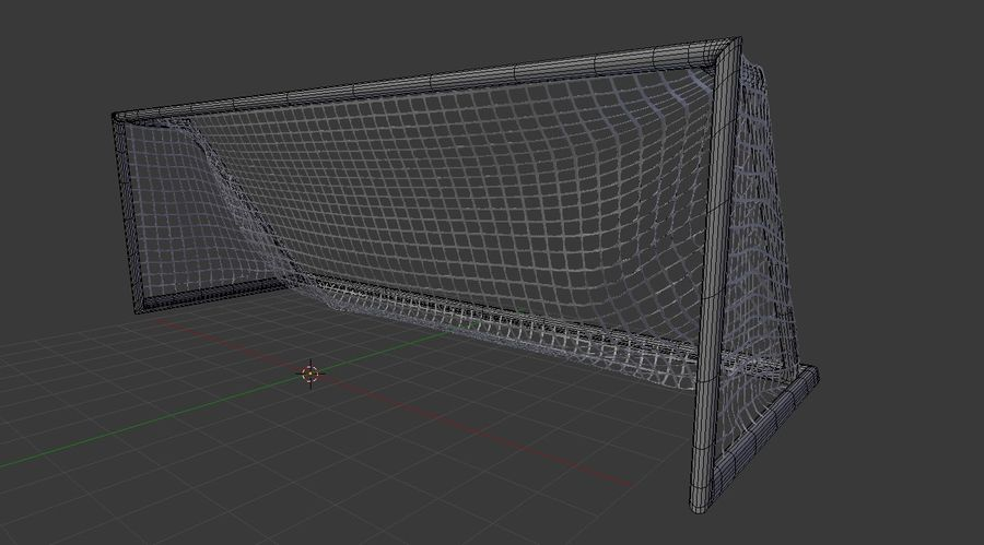 Soccer Equipment royalty-free 3d model - Preview no. 20