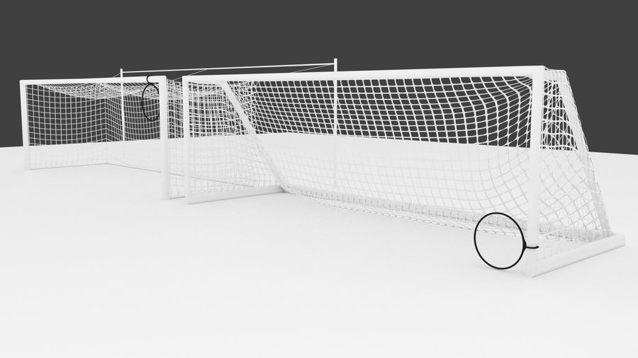 Soccer Equipment royalty-free 3d model - Preview no. 10
