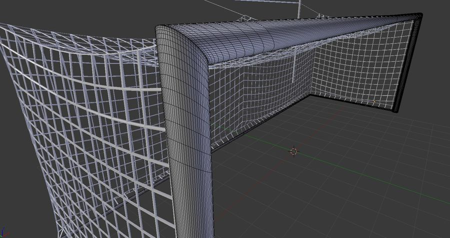 Soccer Equipment royalty-free 3d model - Preview no. 18