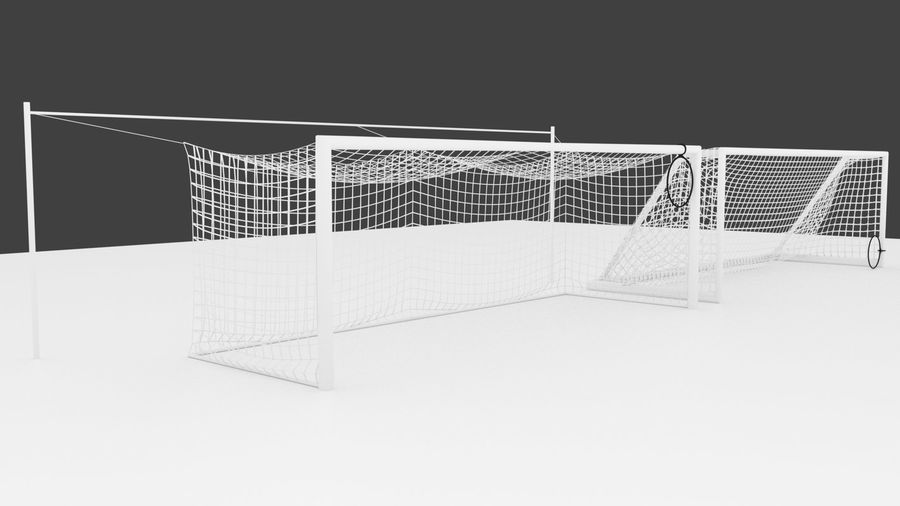 Soccer Equipment royalty-free 3d model - Preview no. 9