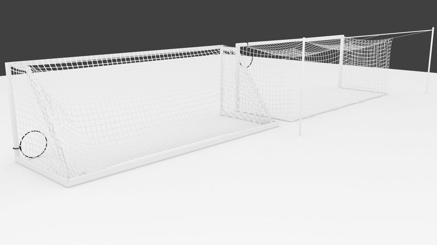 Soccer Equipment royalty-free 3d model - Preview no. 11
