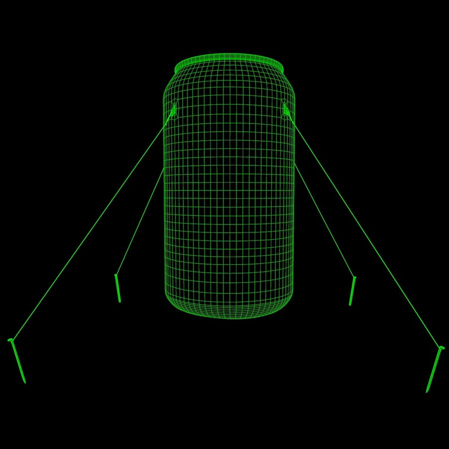 Inflatable can royalty-free 3d model - Preview no. 4