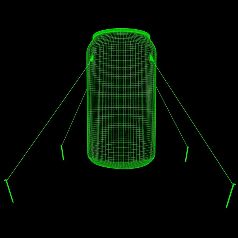 Inflatable can royalty-free 3d model - Preview no. 5