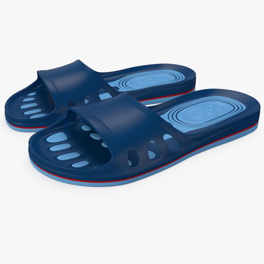 Crocs shoes royalty-free 3d model - Preview no. 1