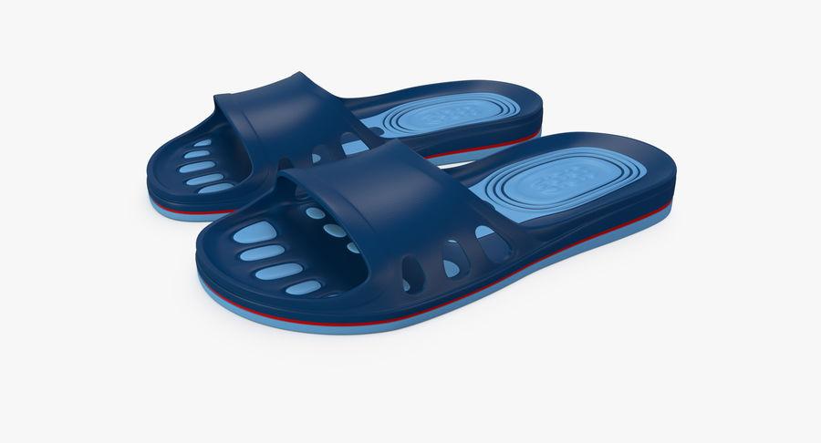 Crocs shoes royalty-free 3d model - Preview no. 2